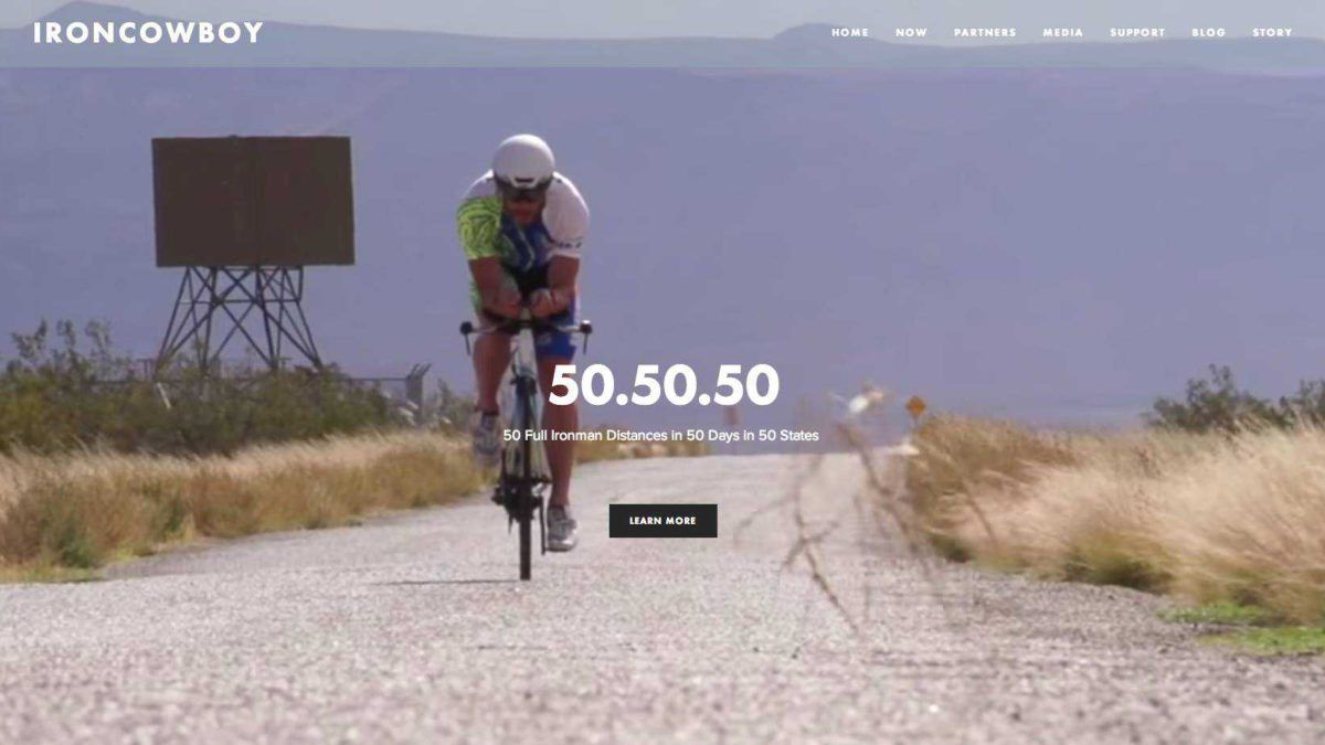 50 dagen, 50 full-distance triatlons