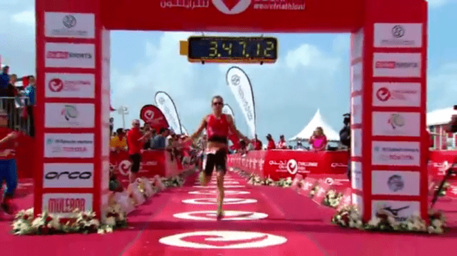 Bart Aernouts finish Dubai