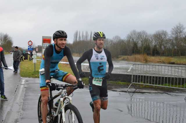 Wevelgem RunBike Joerie VS Kenneth VDD