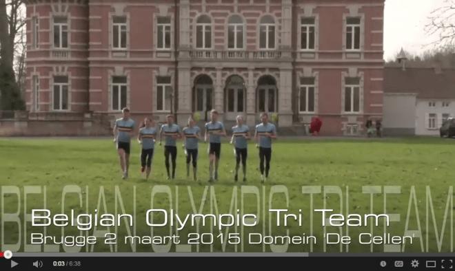 Uniek concept: Belgian Olympic Tri Team