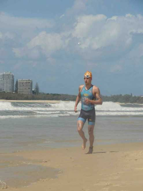 Jelle Geens Mooloolaba beach