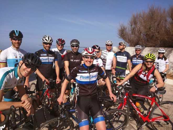 Mallorca Stage groep fietsen