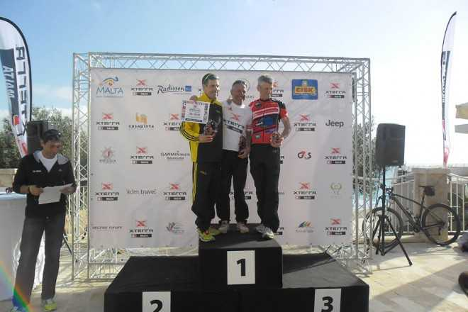Charles Leduc 3de in Xterra Malta