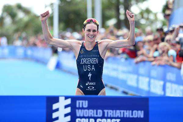 Gwen Jorgensen Gold Coast