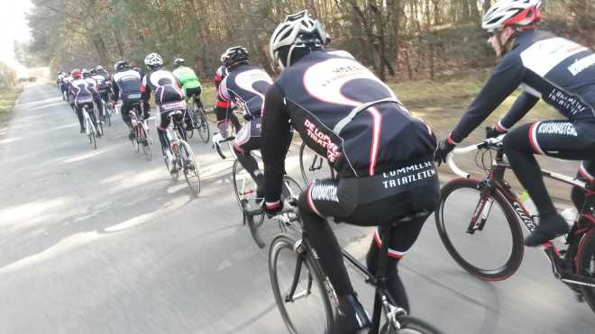 Lommelse Triatleten fietsen