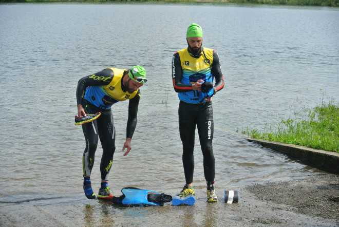 Eerste Belgische Swimrun is een succes