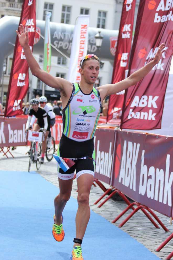 Thomas Jurgens wint Antwerpen