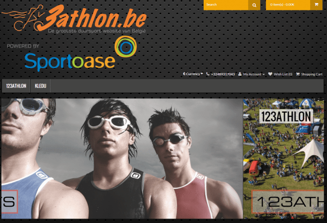 3athlon.be Shop