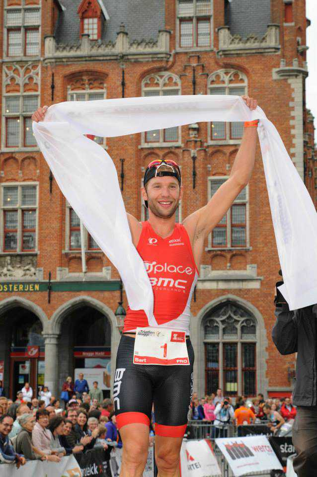 Bart Aernouts wint Brugge