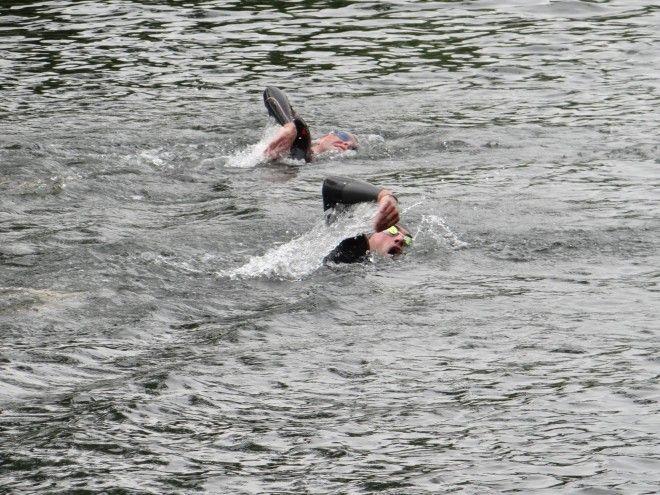 Kanaalzwemmen Olen 2015 Dirk De Wolf zelf