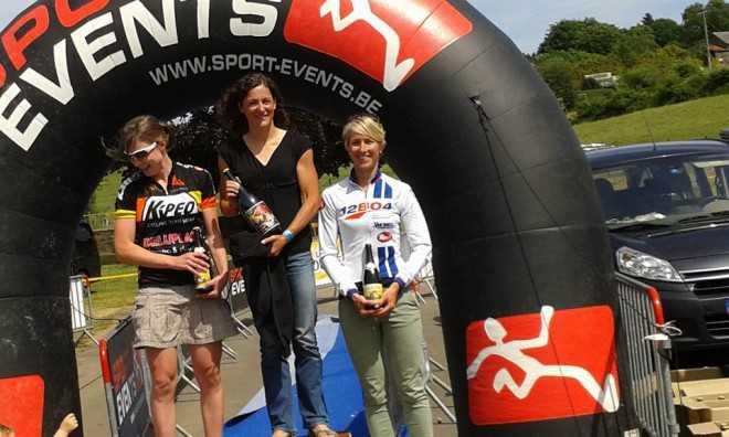 La Roche 111 Stefanie Adam podium