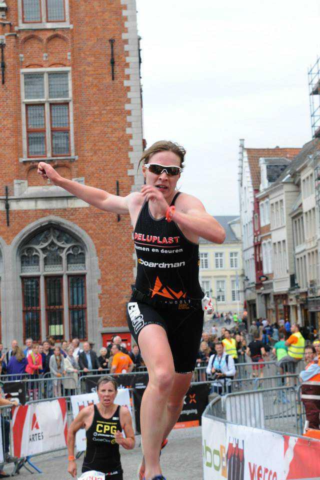 Marjolein Truyers sprint Mieke Suys Brugge