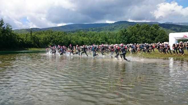 Xterra Greece zwemmen