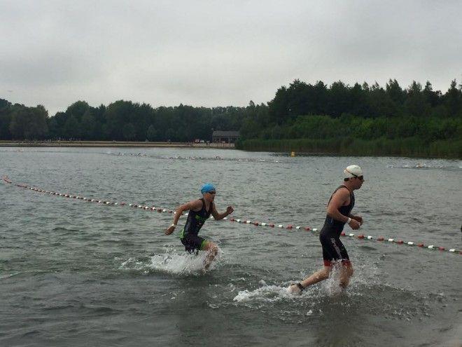 Alex Tondeur zwemmen Aarschot