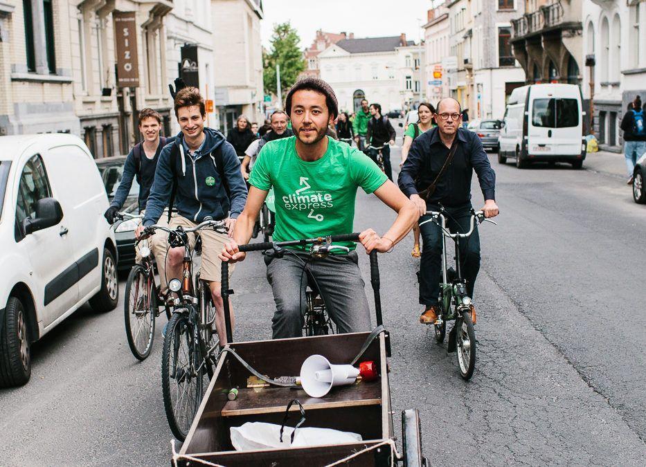 Brussel-Parijs voor het klimaat