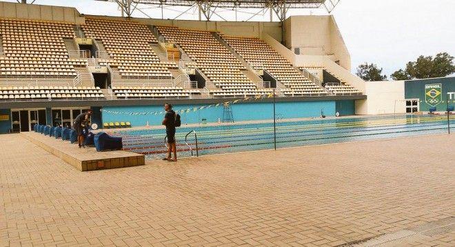 Olympisch zwemtrainingske…
