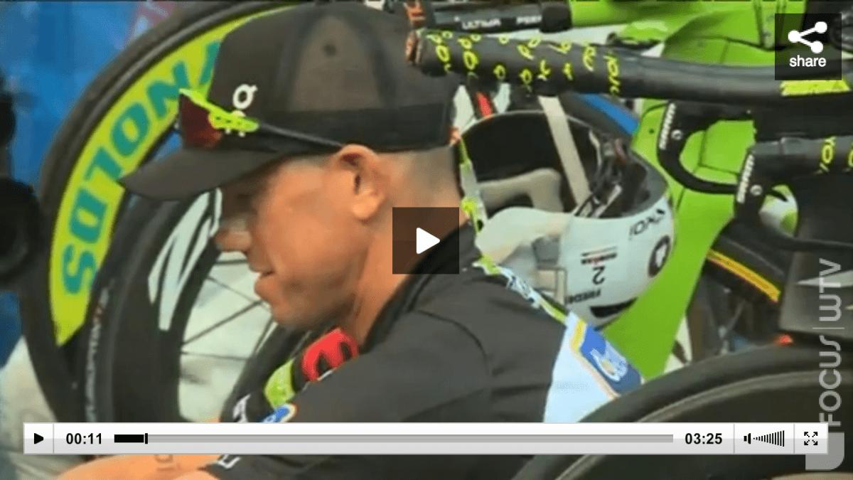 Herbeleef het EK Ironman met Frederik Van Lierde