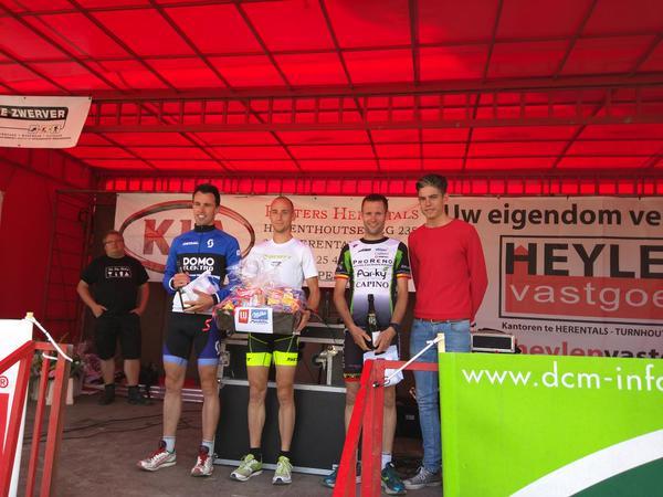 Vincent Bierinckx snelste loper in Herentals Duatlont