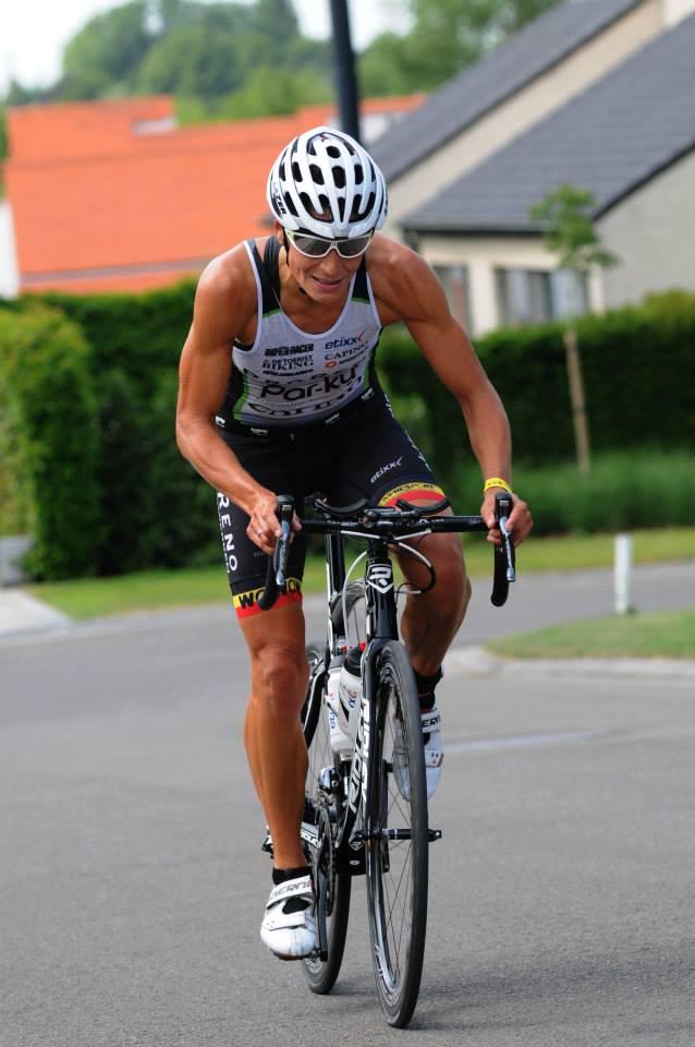 Ilse Geldhof Kortrijk fiets