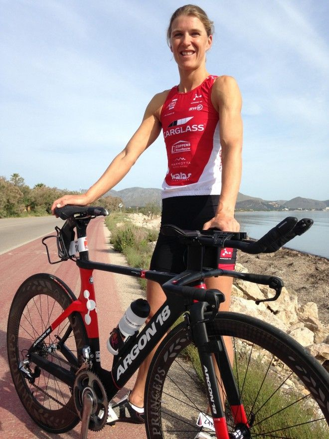 Tine Deckers Bike pose