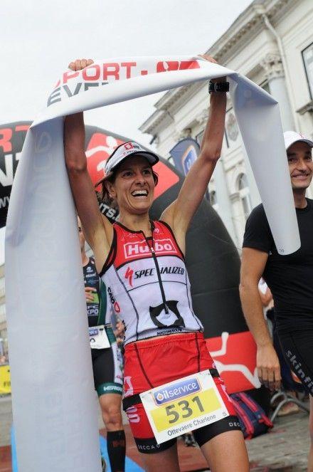 Charlene Ottevaere voor het eerst Belgisch kampioene (foto: Mario Vanacker)