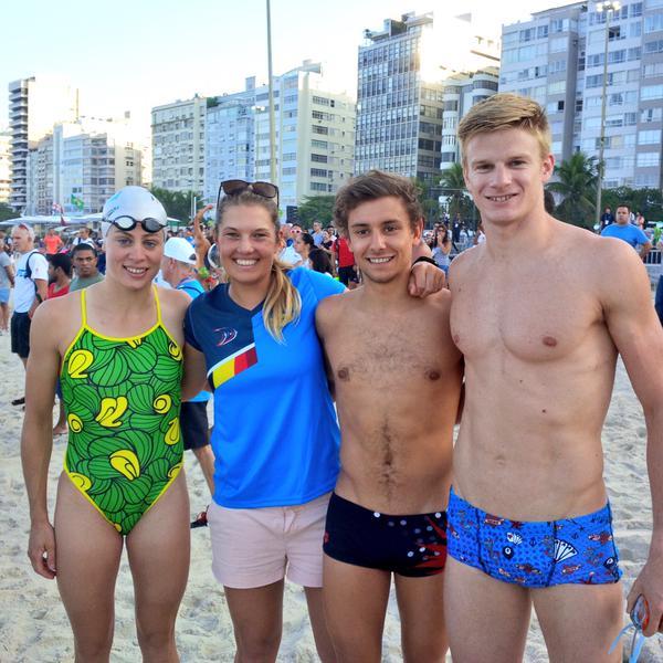 Hoog bezoek in Rio…