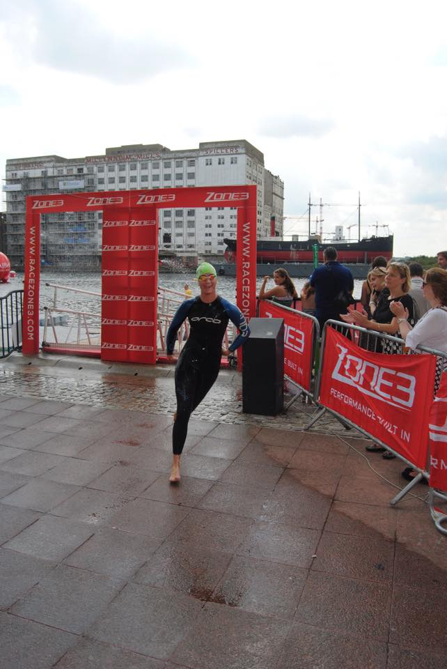 Ninke swim exit Londen 2015 3