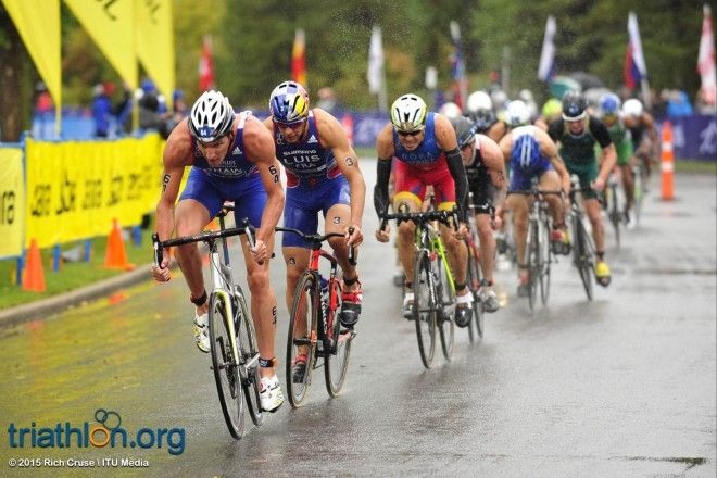 WTS Edmonton Men Elite   September 6, 2015   ©2015 Rich Cruse  ITU