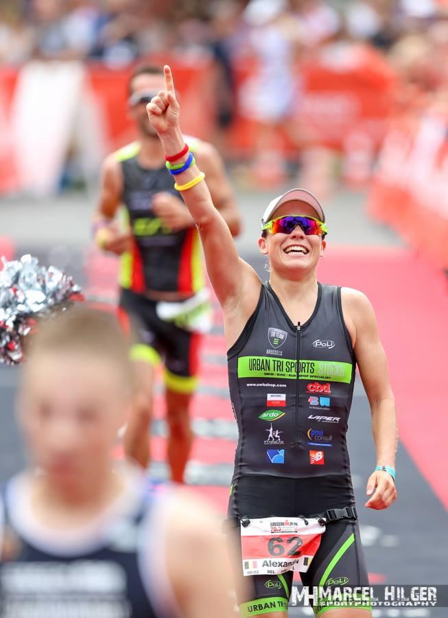 Alexandra Tondeur loopt naar fantastische prestatie in Wiesbaden (foto: Marcel Hilger)