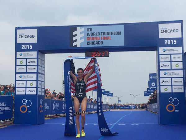 Claire Michel 52ste in WTS Grand Final