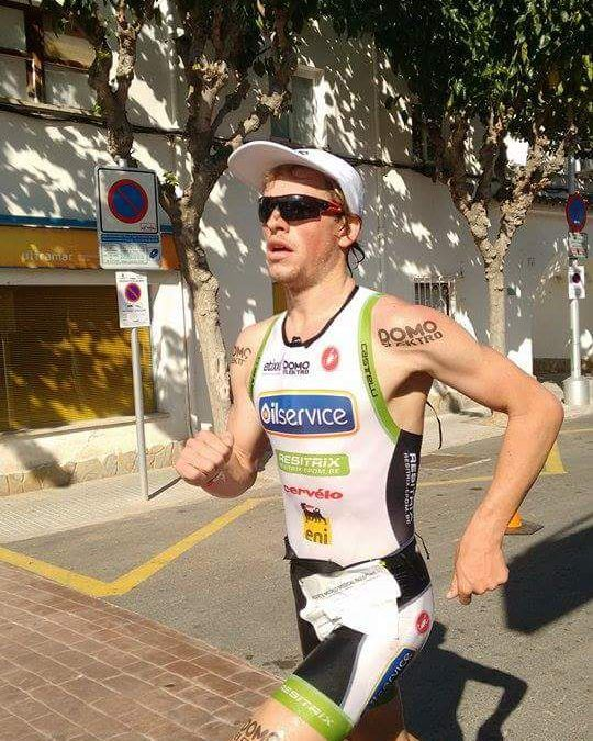 Sterke Belgen in Spaanse halve triatlons