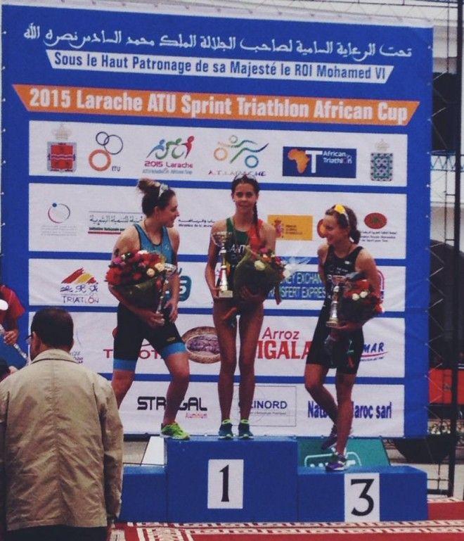 Larache podium