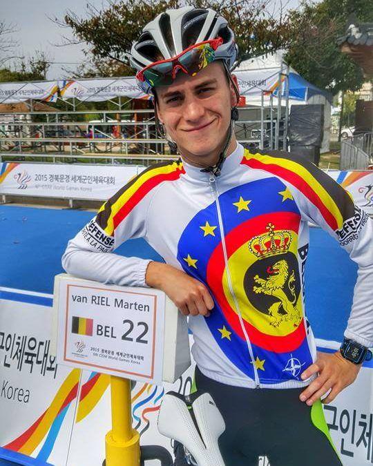 Van Riel tweede op Militaire Wereld Spelen