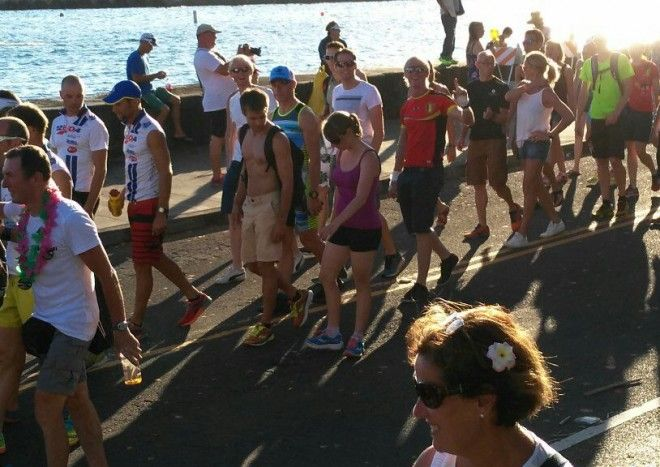 Ironman Hawaii, a family affair
