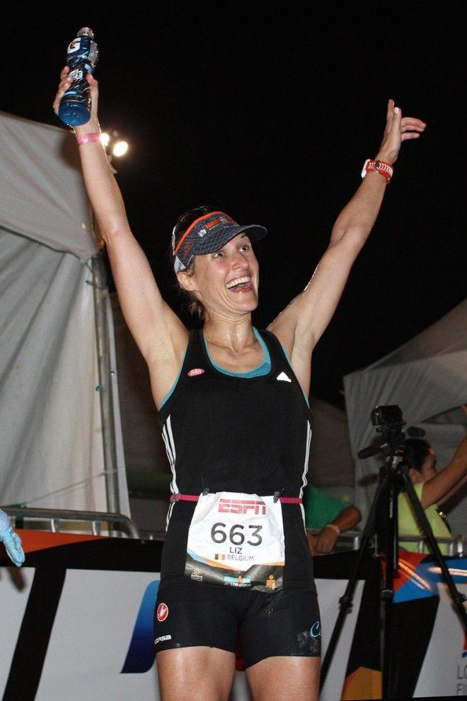Liz Verheydens Los Cabos finish