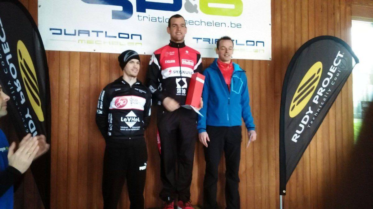 Ironmanpro pakt zege in Hofstade