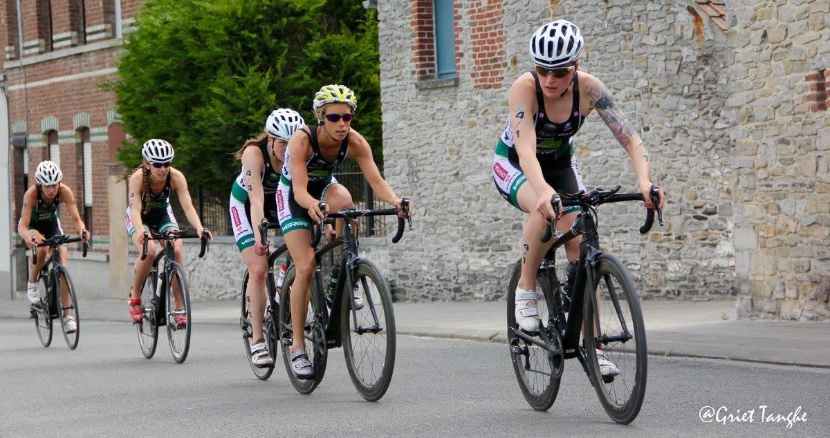 Chartlotte Deldaele fiets Doornik Griet Tanghe