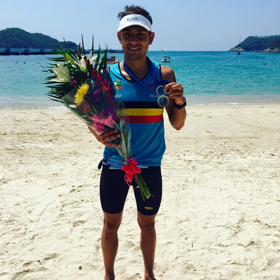 Jelle Geens medaille Huatulco