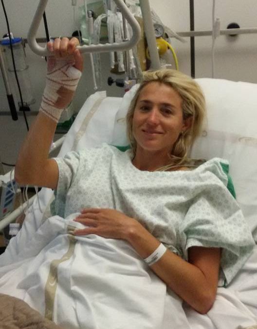 Sofie Goos van intensive care af
