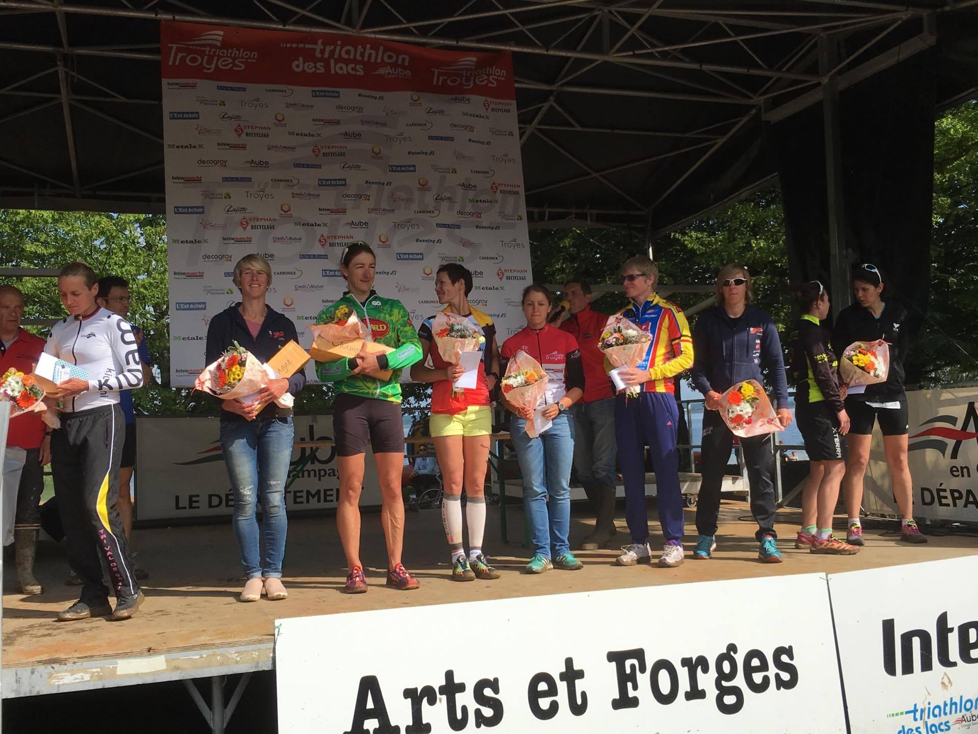 Troyes Inge Roelandt podium