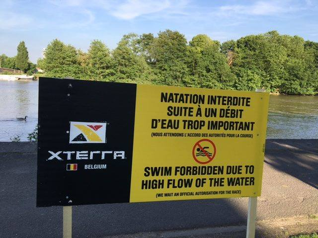 Xterra Swim forbidden