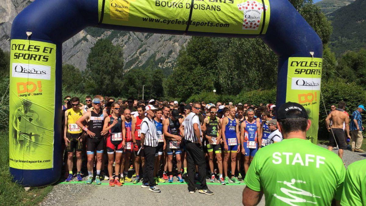 Odeyn pakt zilver op duatlon Alpe d'Huez