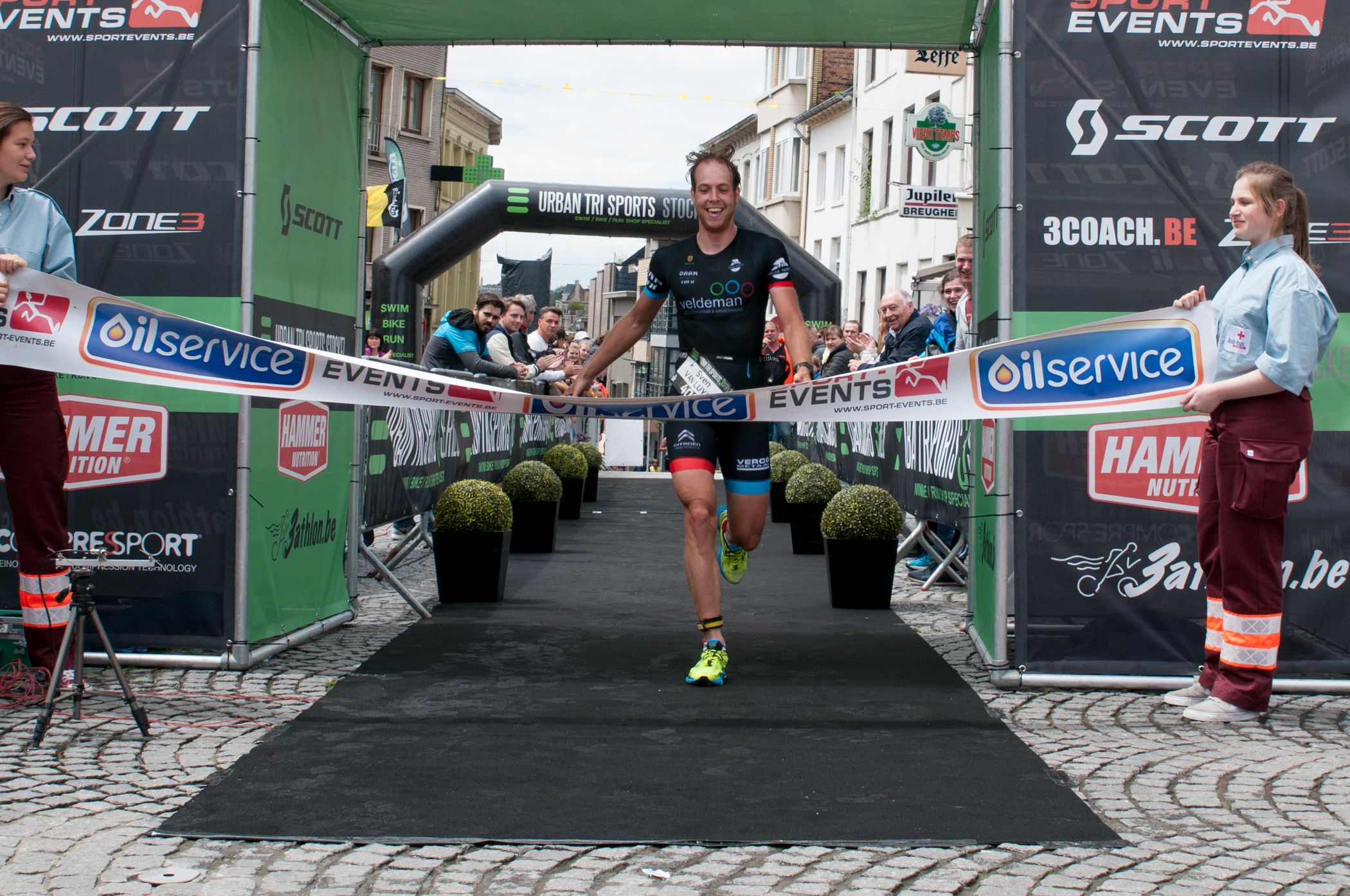 Finish Sven Van Luyck