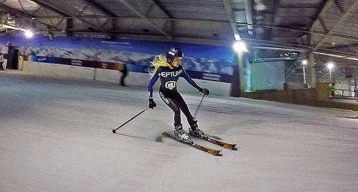 Ines Van Troyen ski FVDW