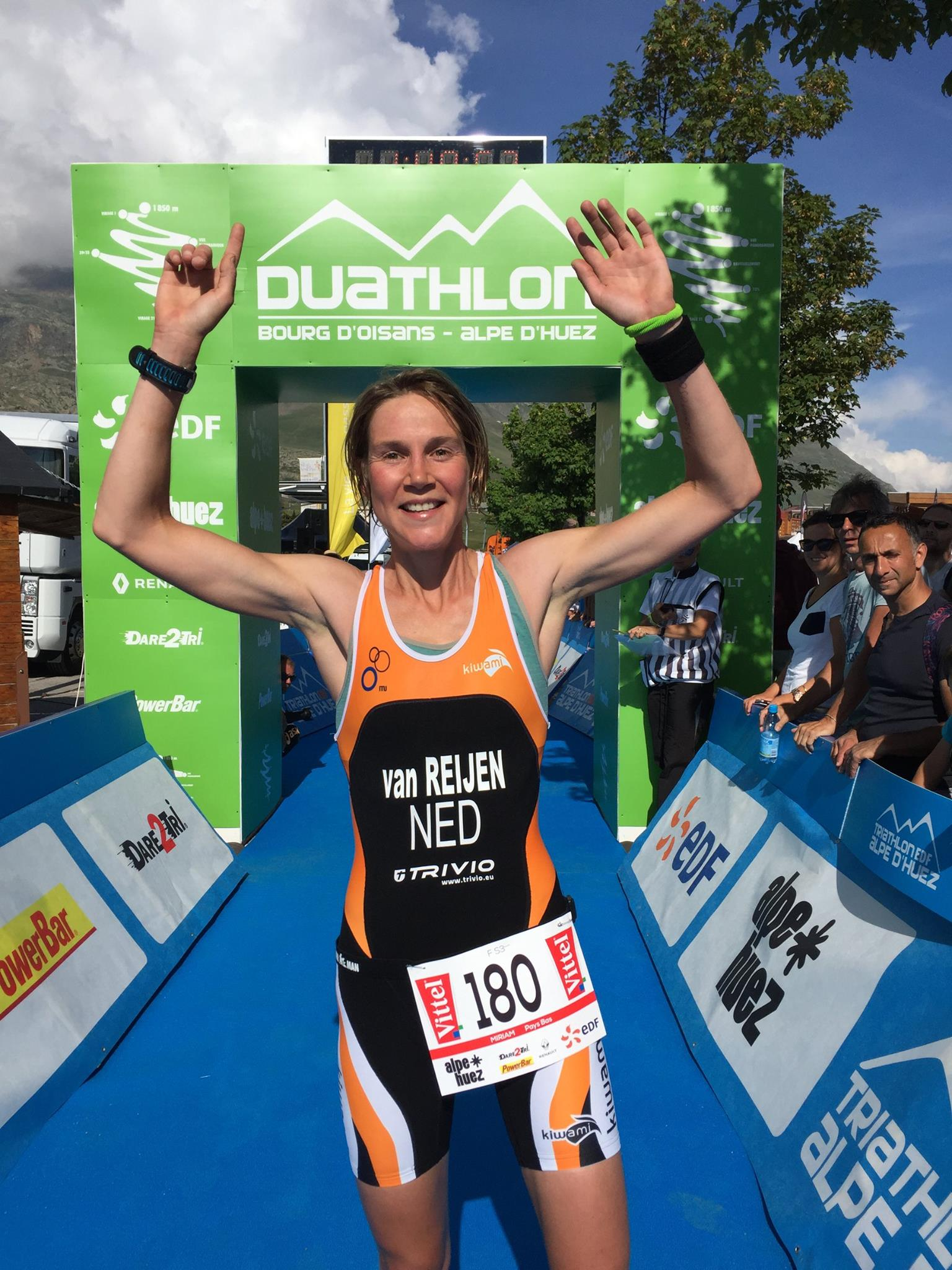 Miriam Van Reijen Alpe Huez