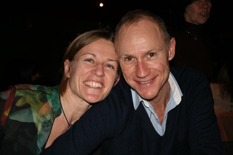 Nico Vandaele en vriendin