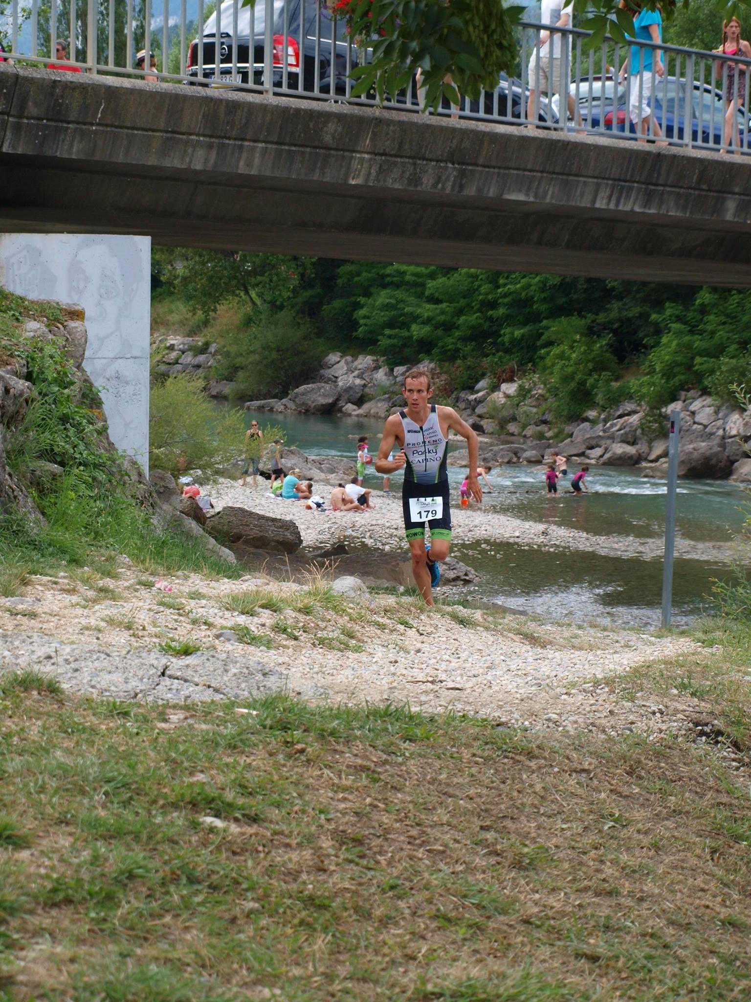 Sven Vandenbroucke run Castellane