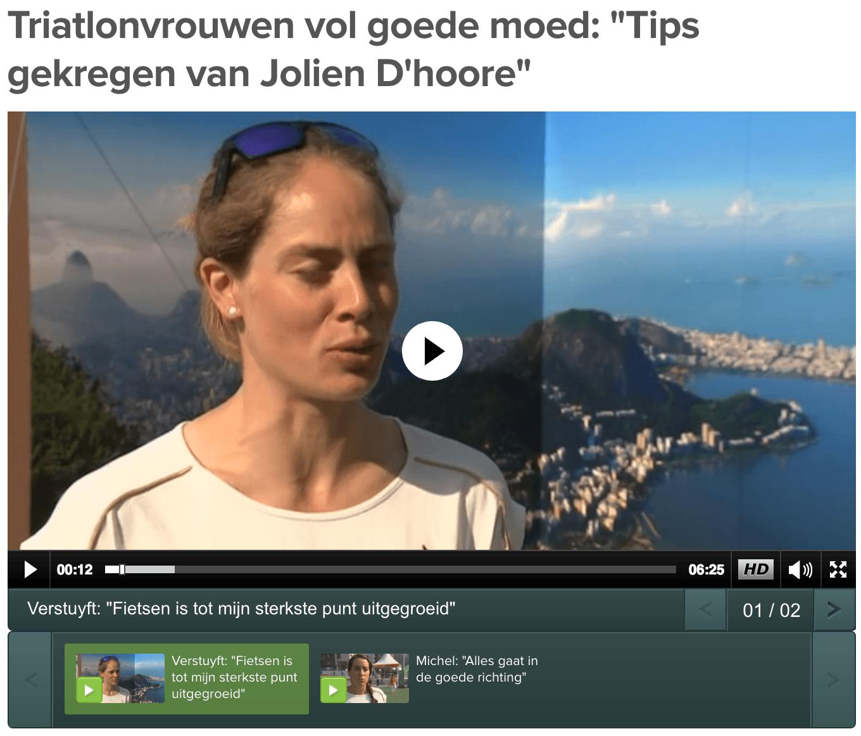 Katrien Verstuyft Rio Sporza