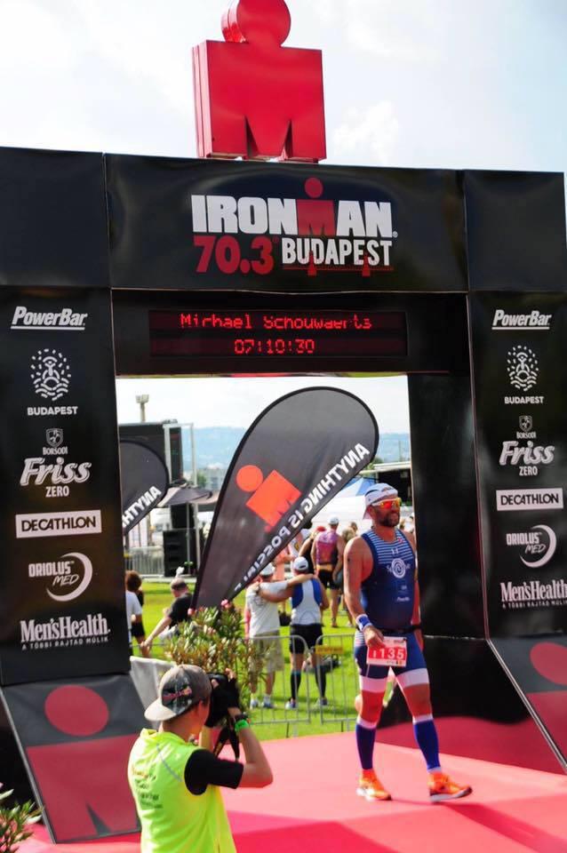 Michael Schouwaerts finish Budapest