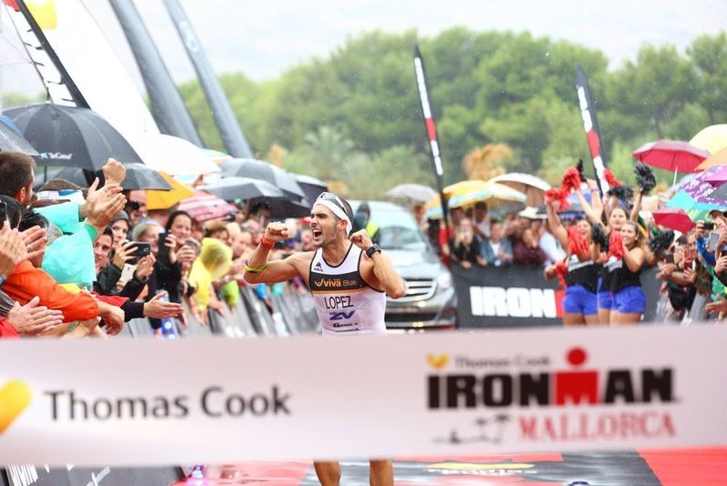 Bart Borghs 9de in uitgeregende Ironman Mallorca